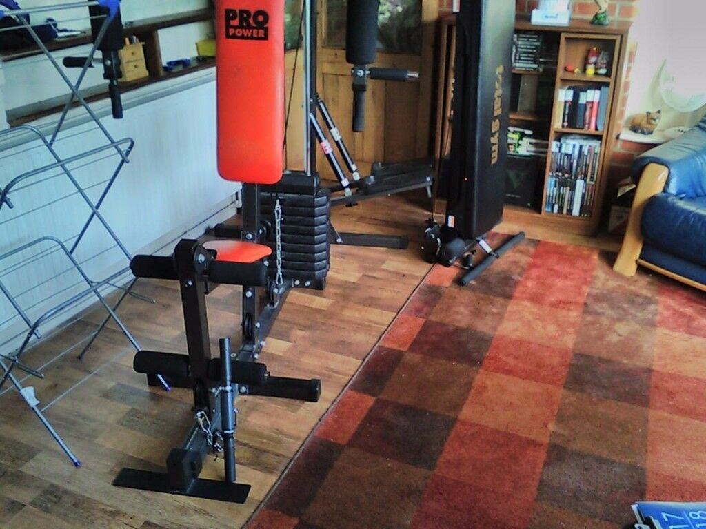 3 station Home Gym-made by Power Pro.