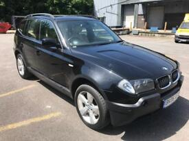 STUNNING 2006 BMW X3 SPORT 2.0D, DRIVES SUPERB,LOW MILES 90000,FULL CREAM LEATHER,CRUISE CONTROL
