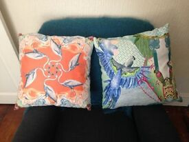 Gorgeous brand new cushions!! Great statement, luxurious and soft. Immaculate condition!