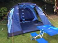 Tent (5 person) and Foldaway Picnic Table