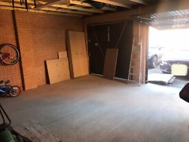 Single or double garage space rent Newcastle