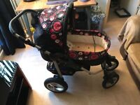 Click & Connect As New Condition Pram & Or Pushchair + Accessories