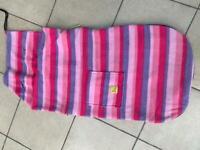 Pink stripe Snuggle Buggy