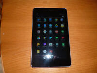 Nexus 7 Tablet, very good condition 1 small superficial scratch on screen, charger included