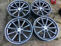19' alloy wheels 5x112 Audi Vw Mercedes