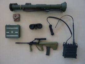 Dragon Action Man model toy equipment radio phone dinky corgi solido