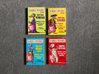 Horrible Histories books x 4