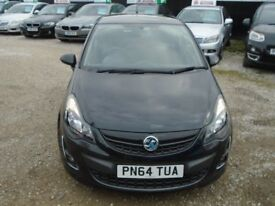 vauxhall corsa black edition, 1.4 turbo, metallic black, 3 door