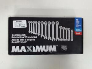 MAXIMUM 15 Piece GearWrench Set (#54460) We Sell New and Used Tools!