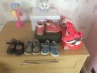 Selection of toddler girl shoes (some designer)