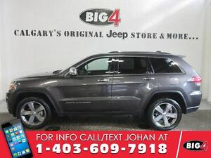 """2015 Jeep Grand Cherokee Limited, Leather, 20"""" wheels"""