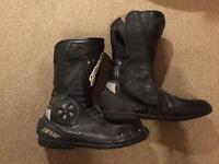 Gear size 9 waterproof motorcycle boots