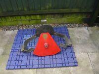 Bulldog wheel clamp for caravan or motorhome fully adjustable.