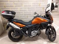 Suzuki VStrom DL650A 2012, low mileage, excellent condition