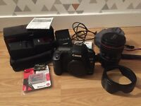 Canon 5D Mk II, 24-105 L Series Lens and Sigma EF-610 DG ST Flash