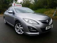 Sep 2010 Mazda 6 Takuya 2.2d 165bhp! Heated Half Leather! Only 69000 Miles! Mazda Service History