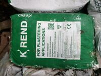 K Rend Silicone FT Render - White - 11 bags