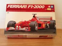 Rare / Collectable Tamiya Ferrari F1-2000 1/20 scale model.