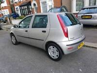 FIAT PUNTO 1. 2L PETROL 2004 ONE YEAR MOT LOW MILLAGE 49K