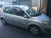 Renault scenic dynamique 1.4 petrol 5 seater mpv! 53 plate! Mot july 2018! Good runner!!! £450!!