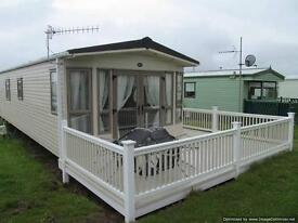 STATIC CARAVAN TO RENT AT EYEMOUTH HOLIDAY PARK ON THE SCOTISH BORDERS prices from £380 per week