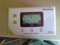 binatone g430 widescreen satnav