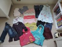 Bundle of clothing for girl, age 6 years