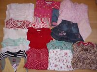 girls clothes bundle to suit girl age 9-12 months old