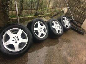 """Set Of 4 Classic Original 18"""" AMG Alloy Rims- DELIVERY/COLLECTION WIGAN"""