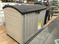 Plastic garden storage shed - FREE DELIVELY