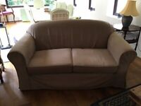 Two matching 2-seater sofas
