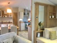 2 BEDROOM STATIC CARAVAN FOR SALE, HOLIDAY HOME, LONG OWNERS SEASON, LOW FEES