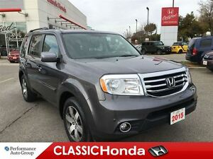 2015 Honda Pilot TOURING | NAV | REAR DVD | LEATHER | ONE OWNER