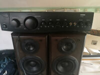 amp + speakers