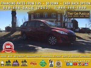 2015 Mazda MAZDA5 GS-$58/Wk-6 SEATS-AUX/CD/MP3-BLUETOOTH-Cruise-