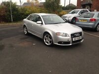 05 audi a4 s line 2L tdi , MAY PART EXCHANGE