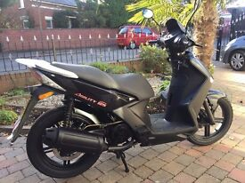 2012 KYMCO AGILITY CITY 125 FULL MOT RUNNING WELL PRICED TO SELL AT ONLY £750