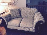 Couch and loveseat and other items
