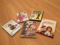selling comedy DVD's