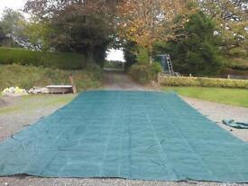 swimming pool winter bebris cover fit 20ft x40ft pool