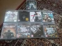 Playstation 3 with 9 games and 2 controllers
