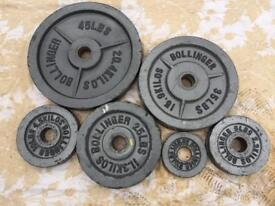 Olympic weight plates set