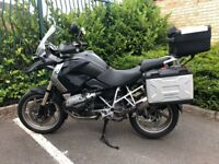 BMW R1200GS with full Multi Vario Luggage