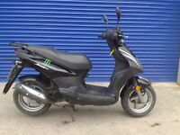 2014 SYM SIMPLY 50CC MOPED HPI CLEAR , RUNS WELL