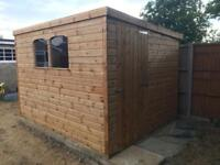 Sheds 10ft x 8ft shed , heavy duty, lots available