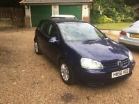 sold sold VOLKSWAGEN GOLF MATCH FSi AUTO ONE OWNER 95,600 MILES WARRANTED FULL SERVICE HISTORY