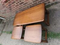 Ercol Golden dawn coffee tables ,Long John set of tables