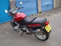 BMW R1100R motorcycle