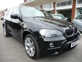 BMW X5 3.0 D M SPORT 5d AUTO 232 BHP (black) 2008