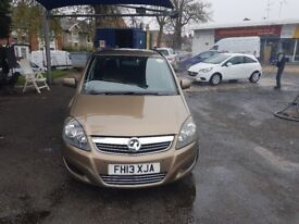 7 seater 2013 pco licensed vauxhall zafira only 36000 miles, uber ready any inspection welcome